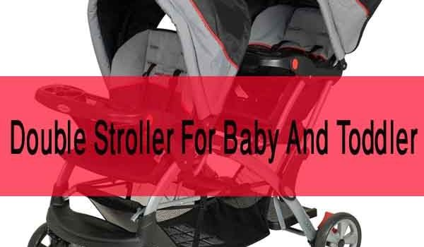 Double Stroller For Baby And Toddler